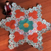 Scrap Happy September - Hexagon Cutting and Sewing