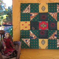 September and October Provençal Quilt Blocks