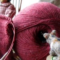 Knitting Merino Yak