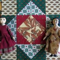 November and December Provençal Quilt Blocks