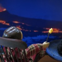 Volcano-watching!