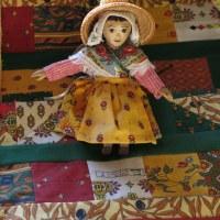 Scrap Happy Provençal quilt July 2021